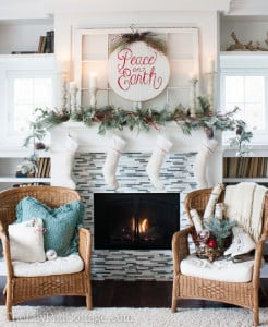 The 12 finalists of the holiday home tour linky party….