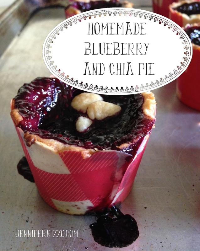 Mini blueberry and Chia pies….