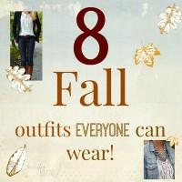 8 fall women's outfits anyone can wear