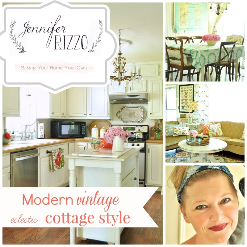 Modern vintage eclectic cottage style:My signature style
