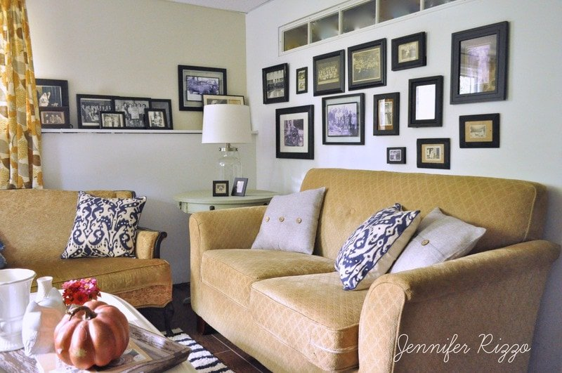 Home tour and family room reveal