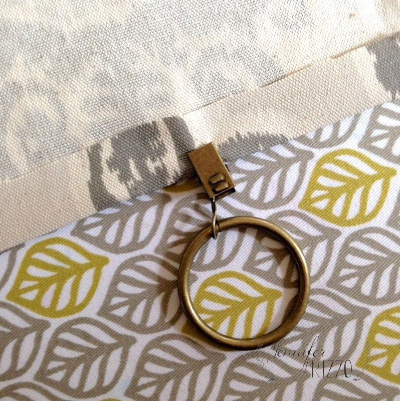 How to make the easiest no-sew curtains ever