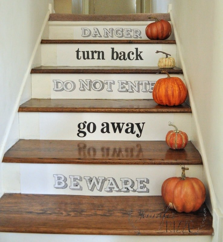 Make some spooky stairs