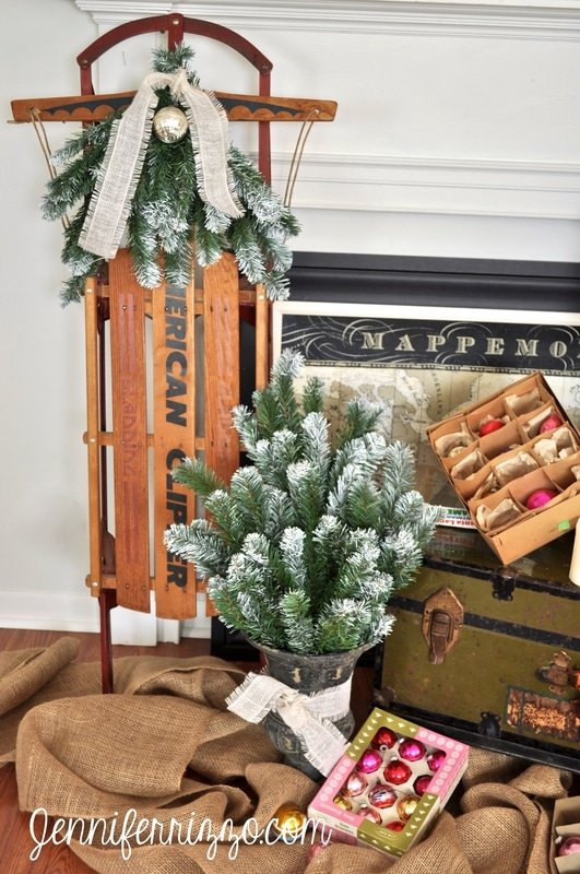 How to reuse an old Christmas tree - Jennifer Rizzo