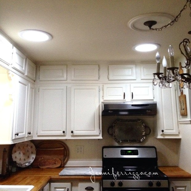 Tubular sky lightscan lighten a dark interior and look like canned lighting.