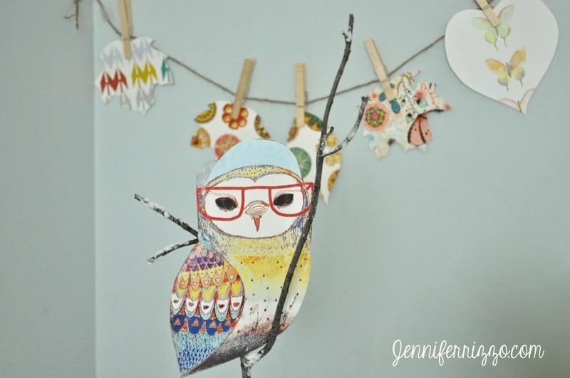 Fun Owl Art and Art Book Challenge