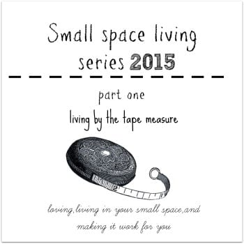 small space living button