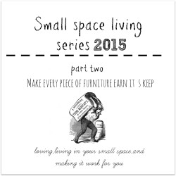 small space living pt two