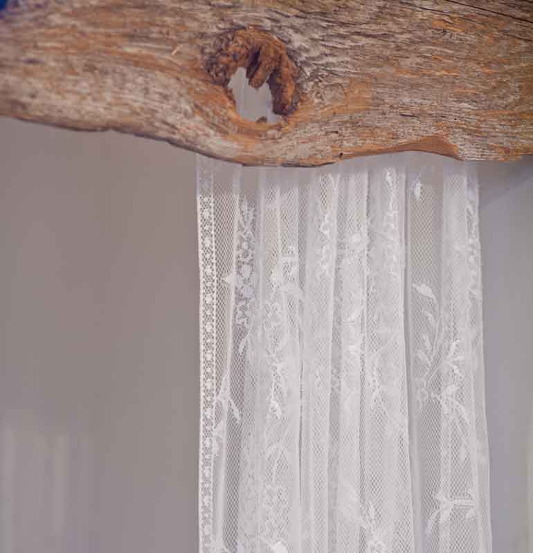 Rustic Barn Wood Bathtub Valance