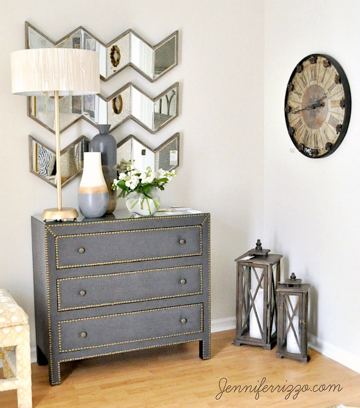 Modern traditional design with vintage elements