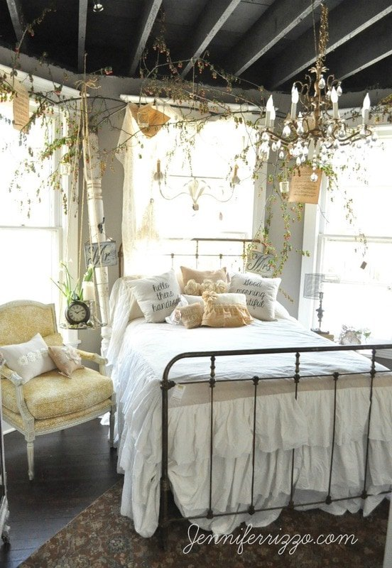 Romantic Bedroom From Design House Jennifer Rizzo