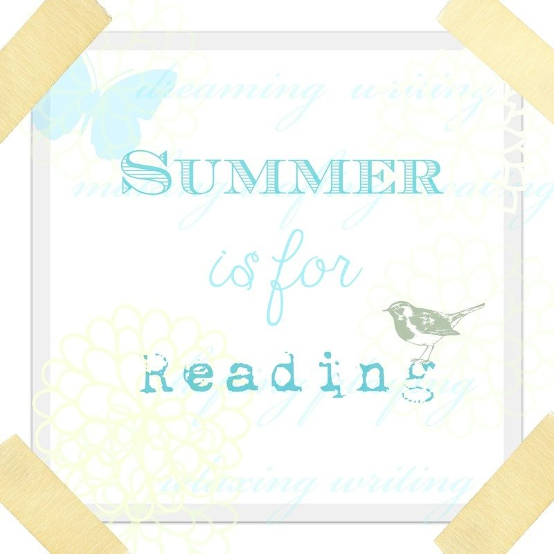 Summer is for reading printable