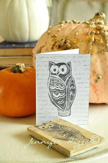Carve your own rubber stamp DIY