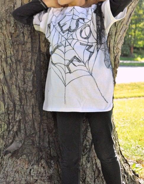 Halloween costume inspired by Charloett's web