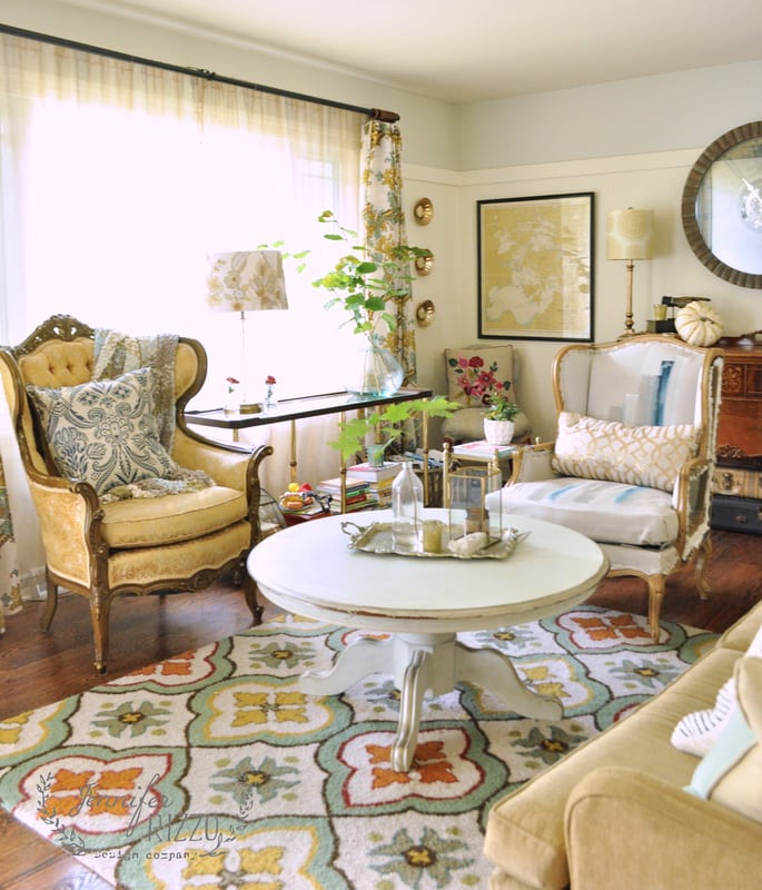 My inspired room…The living room