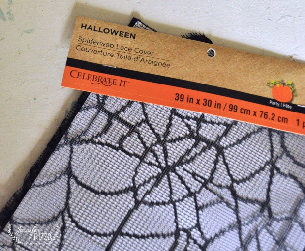 Turn spiderweb table cover into a jacket