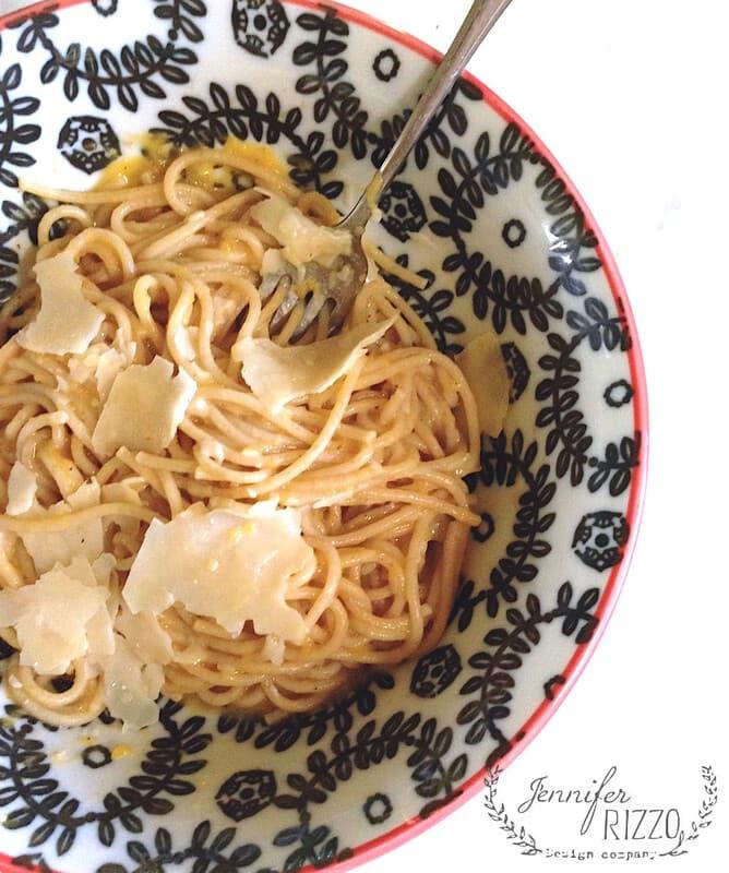 Roasted butternut squash pasta sauce