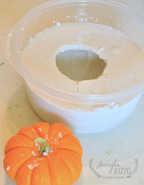 mini pumpkin casting mold