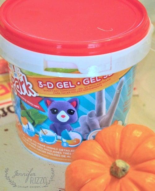 quick casting compund to make mini pumpkins with