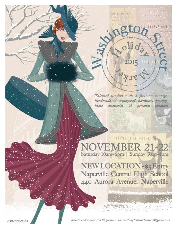 Kane County market this weekend and upcoming holiday shows!!