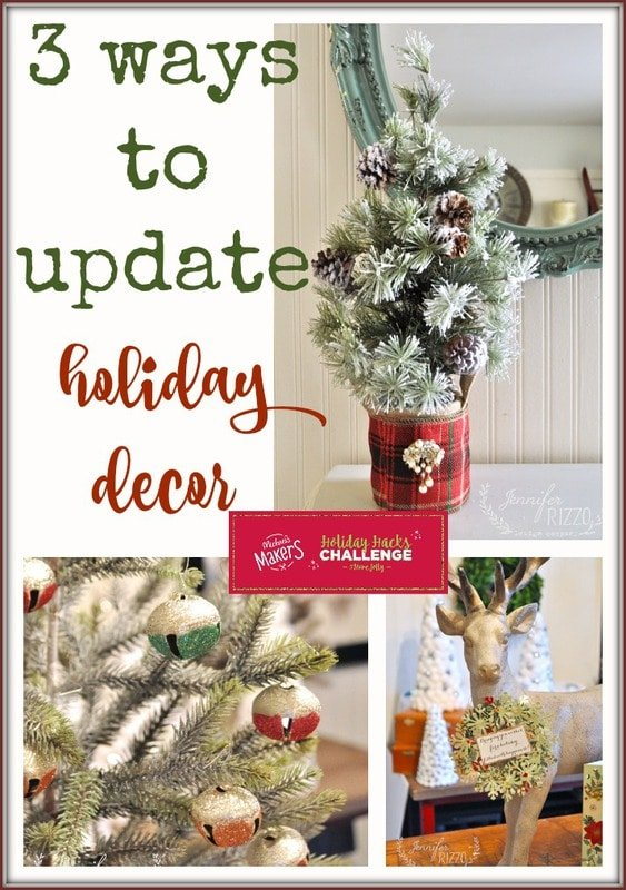 3 ways to update old holiday decor