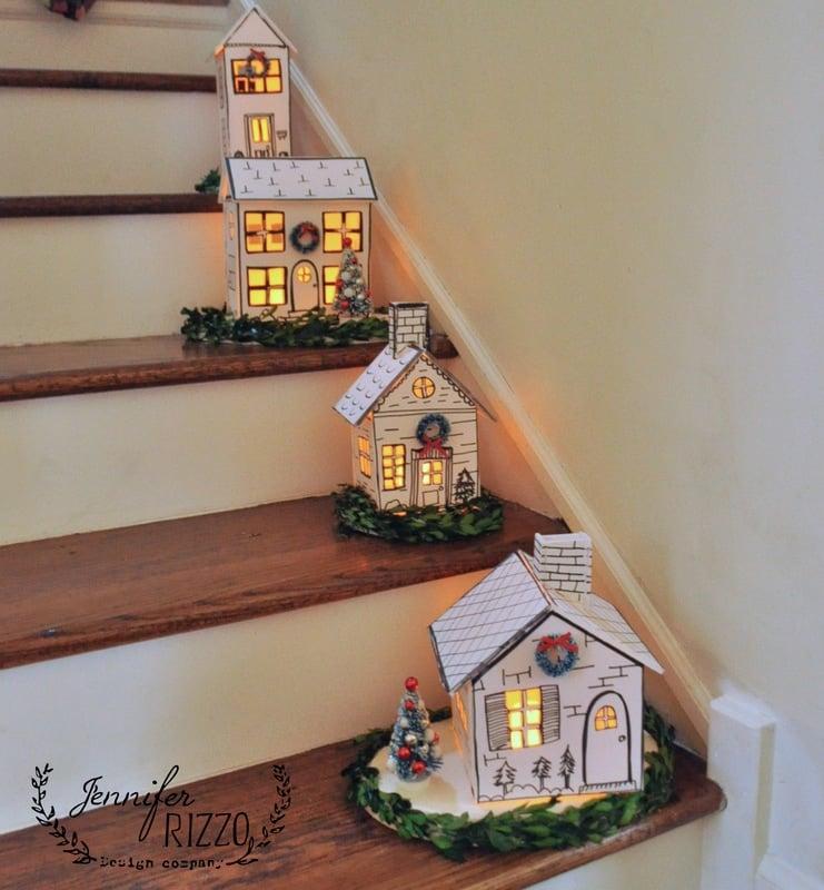 Как сделать дом для декораций