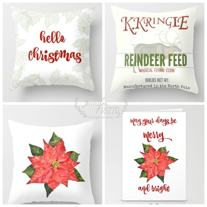 Christmas pillows and holiday mugs are here!