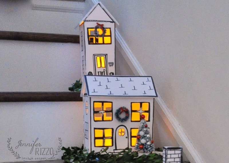crafty holiday house templates