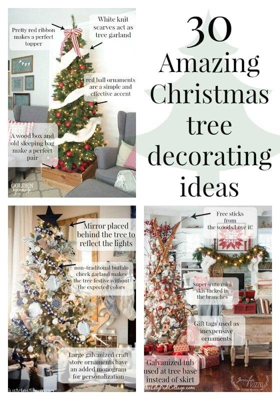 30 amazing Christmas tree decorating ideas