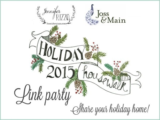 Holiday House walk 2015 link party… Be on next year's tour!!!