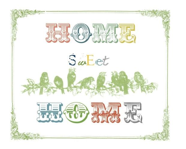 image regarding Home Sweet Home Printable identified as Dwelling cute residence printable - Jennifer Rizzo
