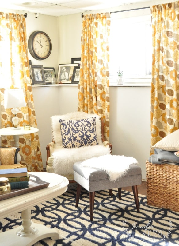 Small home your, Make your basement family room cozy and welcoming