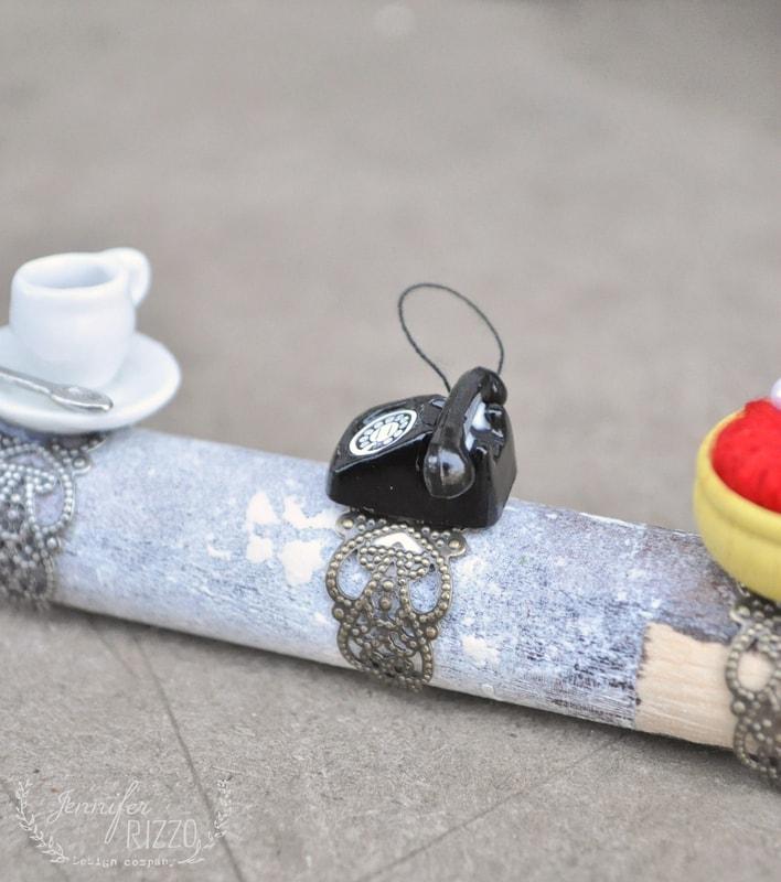 Fun DIY dollhouse miniature rings