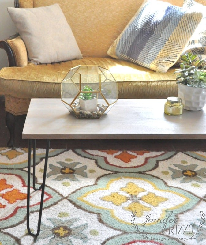 How to make a DIY hairpin table