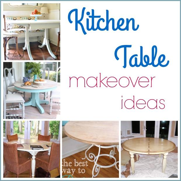 Painted kitchen table ideas