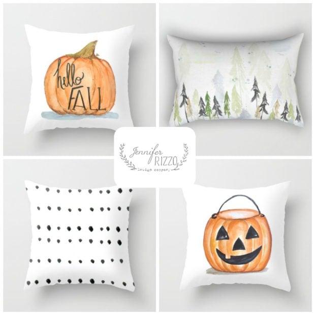 New Fall pillow designs Jennifer Rizzo