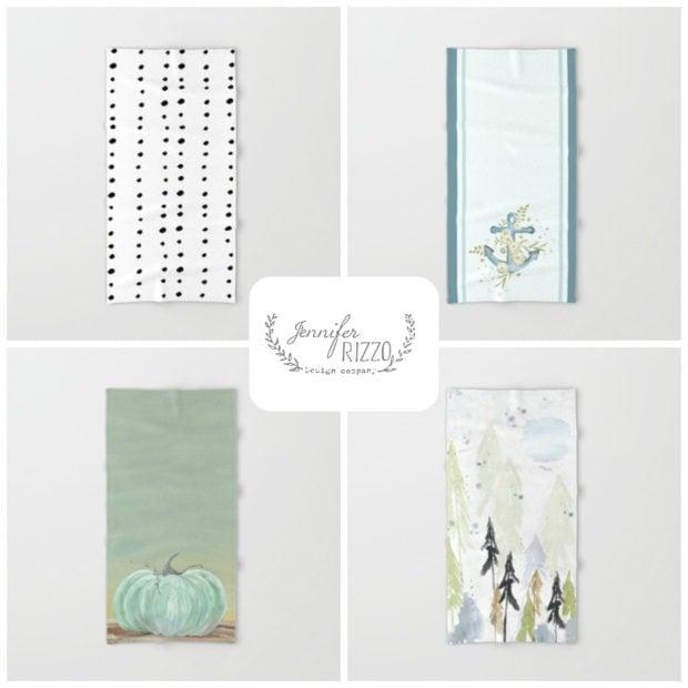 Bath and hand towels Jennifer Rizzo Fall 2016