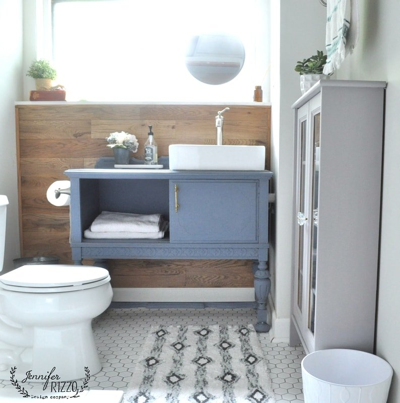 Guest Bathroom: Guest Bathroom Renovation On A Budget