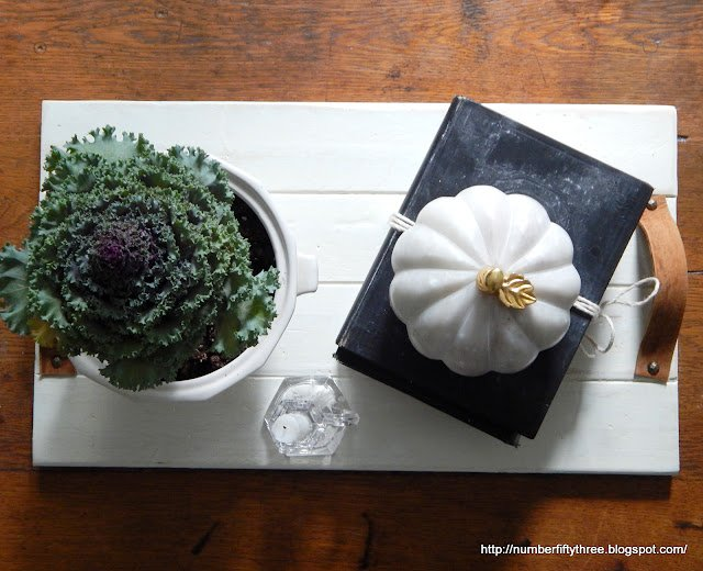 Make a farmhouse style tray with scrapwood