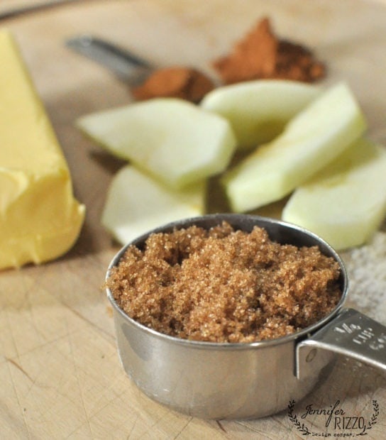 brown sugar for baked apple cruble recipe