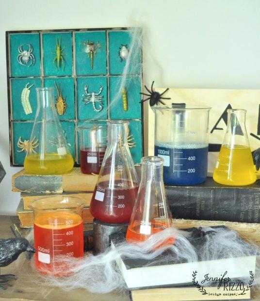 Creep Halloween laboratory