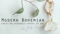 Modern Bohemian Jewelry Workshop by Jennifer Rizzo