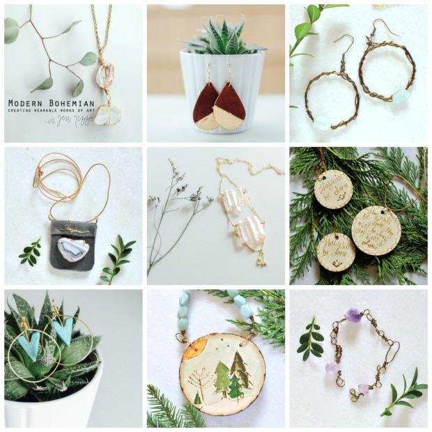 Modern bohemian jewelry ecourse on line