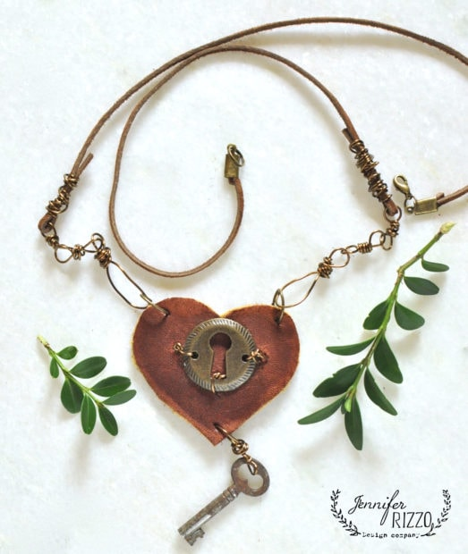 Making modern bohemian jewelry in the online course by Jennifer Rizzo