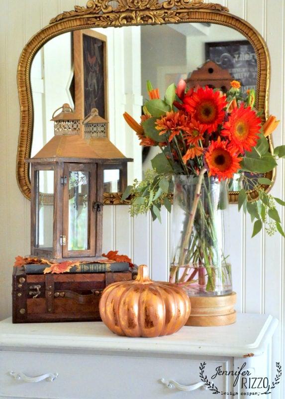 fall decor fall flower arrangements