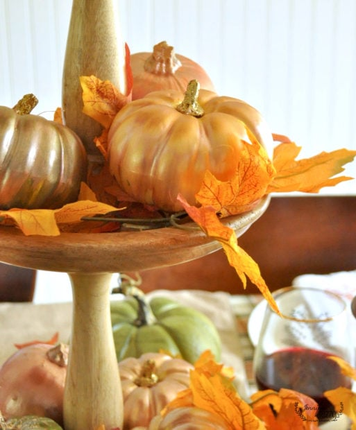 pumpkins-painted-with-metallic-paint