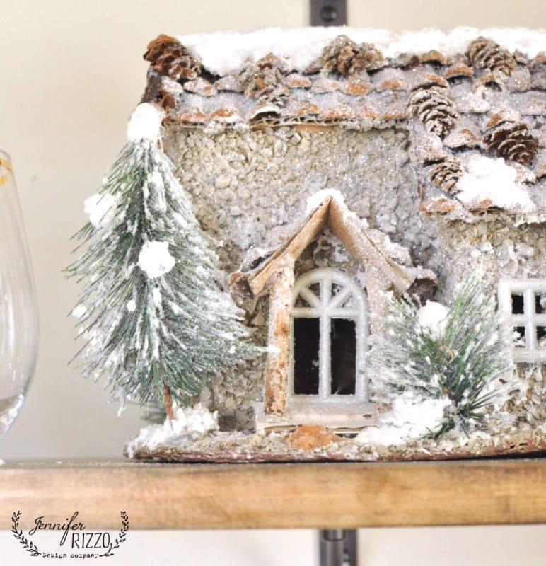 cute pine cone cabin