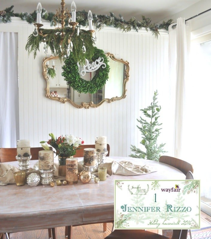 Welcome to my 2016 decorated holiday home tour!