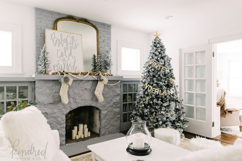 Pretty Kindred vintage tree 2015 with 9 other ways to creatively decorate your Christmas tree