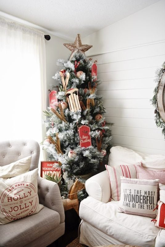 Liz Marie blog Christmas tree